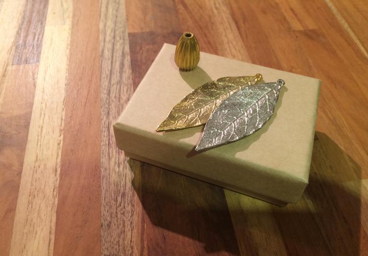 葉子造型黃銅配件