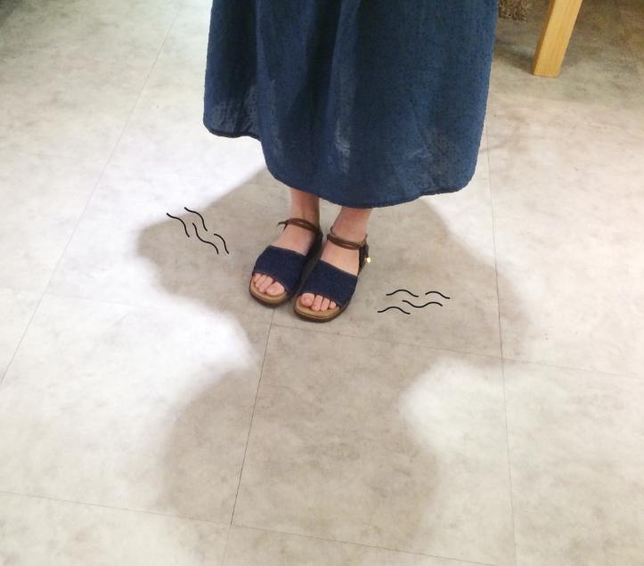 兩穿羽量編織涼拖鞋
