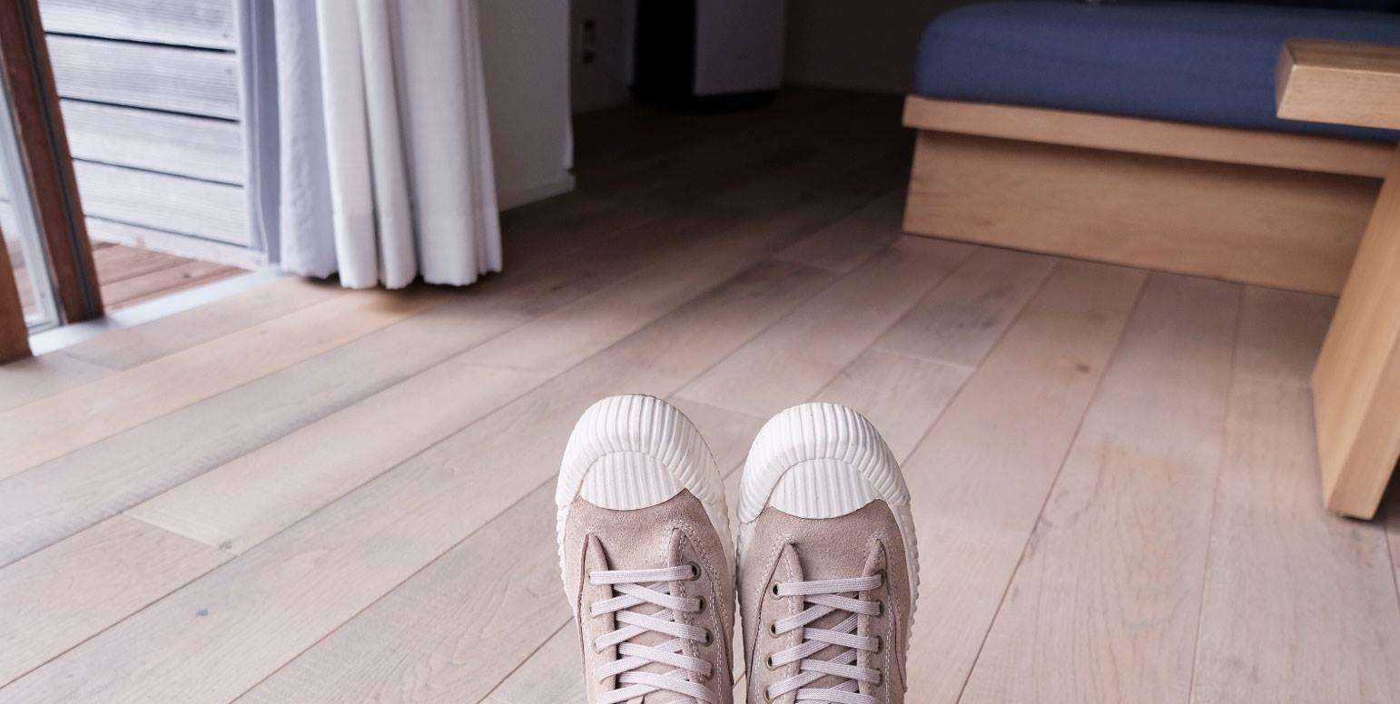 真皮麂皮中筒高筒餅乾鞋