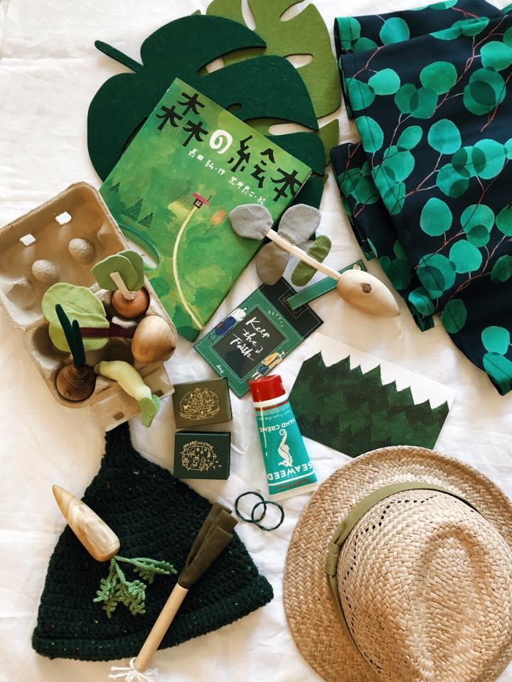 插畫家Mia搜集一整年的美好綠色