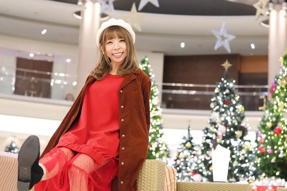 看上田太太怎麼搭許許兒陪你過假日有機棉長版上衣